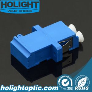 Shuter Adapter LC to LC Duplex Sm Blue with Flange pictures & photos