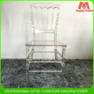 Popular Design Good Quality Colourful Acrylic Napoleon Dining Chair pictures & photos