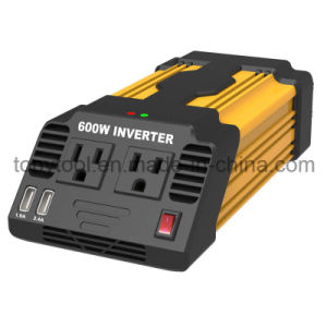 DC 12V to 120V 600W Modified Sine Wave Power Inverter pictures & photos