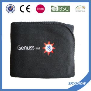Customized 100% Polyester Polar Fleece Blanket (SSB0104) pictures & photos