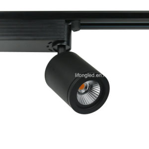 White or Black Aluminum Lamp Mini COB LED Track Light 9W pictures & photos