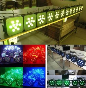 Rgbaw Wedding Party Disco DJ LED Lighting with Battery Wireless pictures & photos