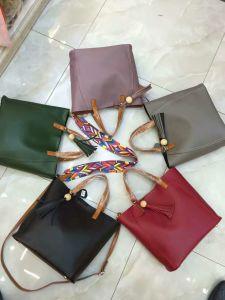 China Wholesale Leather Handbag / Lady′s Tote Handbag Ma1659 pictures & photos