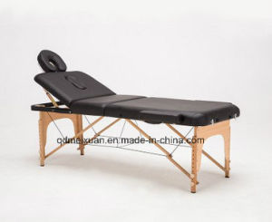 Thirty Percent of The Portable Wooden Massages Bed Beauty Bed (M-X3822) pictures & photos