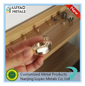 High Precision Customized Brass Part by CNC Machining Brass/Aluminum/Stainless Steel pictures & photos