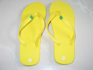 PE Foam Flip Flop with Flower on Thong pictures & photos
