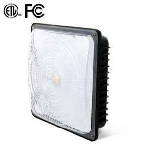 Dimmable Ceiling Petro Station Light 50W LED Canopy Light ETL FCC Approval pictures & photos