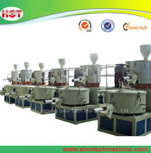 High Speed Plastic Material Powder PVC Resin Mixing Machine pictures & photos