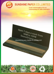 12.5GSM Brown Color Rolling Paper with 1 1/4 Size pictures & photos
