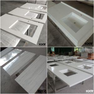 Precut Commercial Quartz Stone Marble Kitchen Countertop pictures & photos