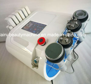 6in1 40kHz Cavitation Vacuum Monopolar Tripolar Sixpolar RF LED pictures & photos