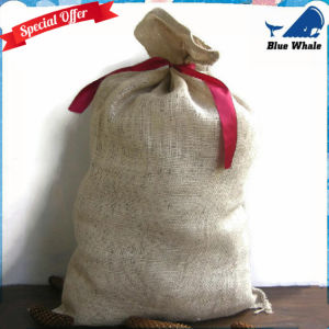Burlap Bags with Natural Jute Drawstring, Gunny Sack Race Bag pictures & photos
