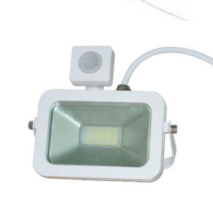 10W 20W 30W 50W White Shell PIR Motion Sensor Induction Sensor Floodlight pictures & photos