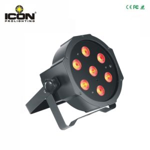 7X10W LED Flat PAR for Party Light with Ce RoHS pictures & photos