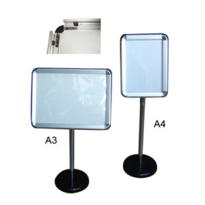 A4 or A3 Stable Snap Frame Poster Display Stand pictures & photos