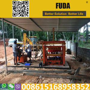 Qt4-30 Small Hydraulic Paver Making Machine pictures & photos