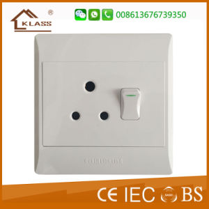 Professional Factory Supply New South Africa Wall Switch and Socket pictures & photos