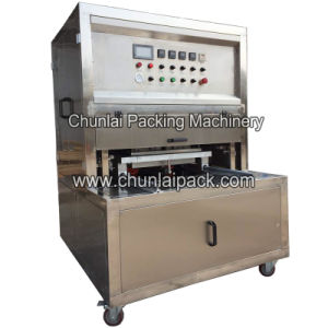 Vacuum Gas Pneumatic Tray Shuttle Sealer Machine pictures & photos