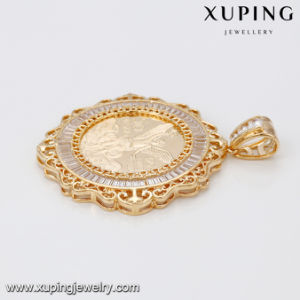 33070 Fashion Latest CZ Gold Pendant in Brass Popular for American Celebration pictures & photos