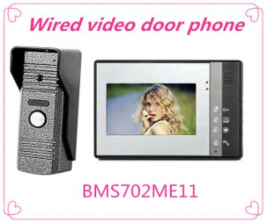 4 Wire Video Door Bell Intercom System for Home Security System pictures & photos