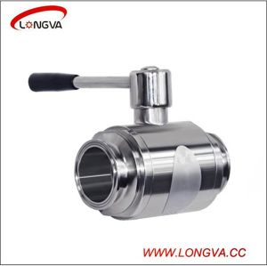 Sanitary Stainless Steel Direct Way Clamp Ball Valve pictures & photos
