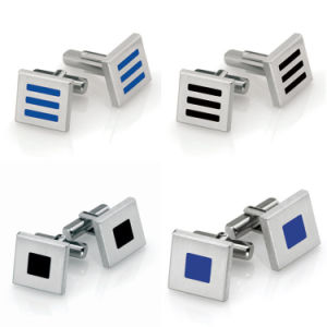 Personalized Classic Stainless Steel Men Cufflinks pictures & photos