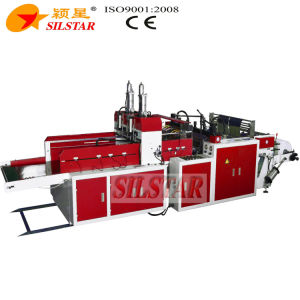 High Speed T-Shirt Bag Making Machine with Servo Motor pictures & photos