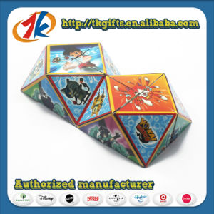 Plastic 3D Jigsaw Puzzle 3D Magic Cube Game for Kids pictures & photos