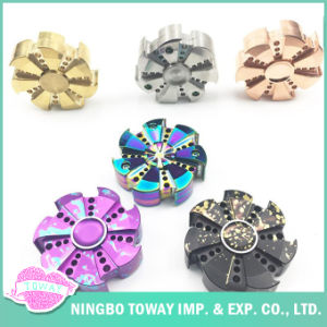 2017 Wholesale Promotion Stainless Steel EDC Metal Fidget Hand Spinner pictures & photos