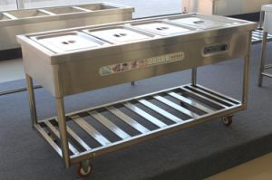 Wholesale Price of 4 Bay Steam Table Stainless pictures & photos