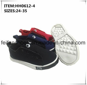 Good Price Children Injection Canvas Shoes Leisure Sport Shoes (HH0612-4) pictures & photos