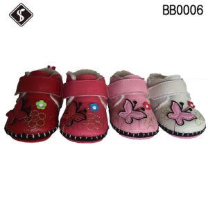 Little Kid Newborn Infant Baby Children Toddler Walking Shoes pictures & photos