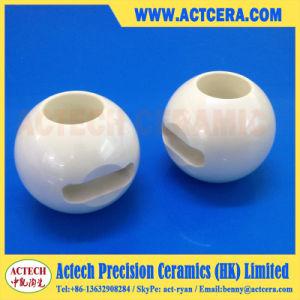 Precision Machining Zirconia Ceramic Ball Valve pictures & photos