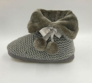 Women′s Indoor Warm Slipper