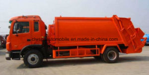 Exported 12 T Garbage Compress & Transport Truck pictures & photos