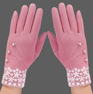Touch Screen Women′s Gloves Outdoor Winter Cotton Gloves Wholesale pictures & photos