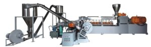 Two-Stage Extruder, Twin Shaft Extruder+ Single Extruder, High Output 100kgs-1000kgs/H pictures & photos