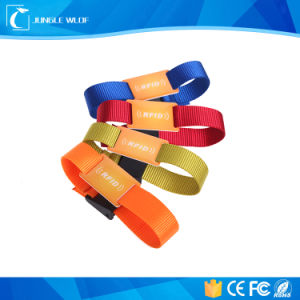 Waterproof RFID PVC Wristband Watches pictures & photos