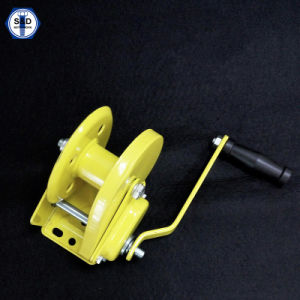 2000lbs Hand Winch Boat Trailer Winch Powder Coating pictures & photos