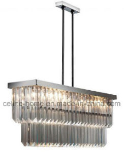 2017 New Design Crystal Pendant Chandelier Lighting for Hotel House Village Private Club (SL07033-14L)