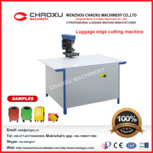 Luggage Edge Cutting Machine Yx-22c High Efficienct pictures & photos