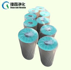 High Quality Paint Stop Spray Booth Exhaust Filter Fiberglass Floor Filter pictures & photos