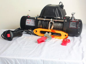 New SUV 4X4 Electric Winch Synthetic Rope Winch (13000lb) pictures & photos