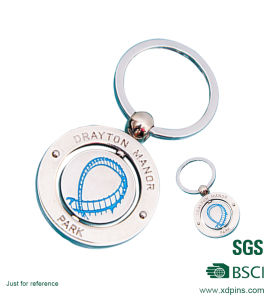 Factory Custom Design Metal Soft Enamel Keychain Promotion Gifts pictures & photos