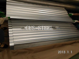 Aluzinc Coating Sheet/ Galvalume Corrugated Steel Roofing Sheet for Prefab Homes pictures & photos