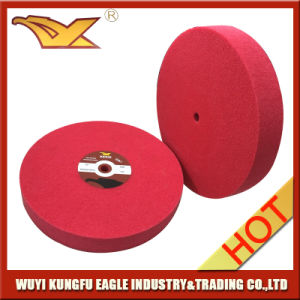 250X25mm Abrasive Nylon Non Woven Polishing Wheel (9P) pictures & photos