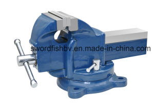 Swordfish Heavy Duty Bench Vise Swivel Without Anvil pictures & photos