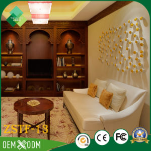 High Quality Solid Wood Bedroom Set of Hotel Furniture (ZSTF-13) pictures & photos