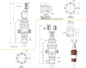 20kv 6000A Transformer Bushing pictures & photos