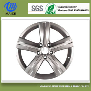 Silver Powder Coating for Aluminum-Alloy Wheel